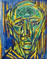 PINIAT 1925-2017 NEW YORK CITY ABSTRACT MODERNIST PORTRAIT FIGURE DRAWING
