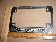 Harley Davidson Chrome License Plate Frame 5630