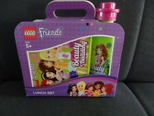 LEGO FRIENDS LUNCH BOX & DRINK BOTTLE SET BRAND NEW SEALED LICENCED