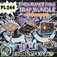 Endurance Damage Trap Bundle   Fortnite STW XBOX/PS4/PC