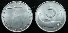 1954    Repubblica Italiana   5  lire  ottima