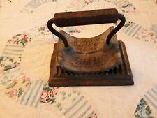 Vintage GENEVA Crimping Iron Fluting Iron Tool Hand  Fluter