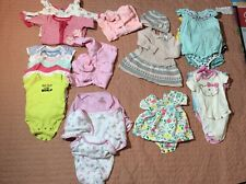Baby Girl Infant Lot 27 Pc 0-3 Month 3-6 Swaddles,rompers,sleepwea r,body Suit