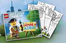 LEGO 2017 Colorable Calendar 5005269 Exclusive Promo NEW/SEALED