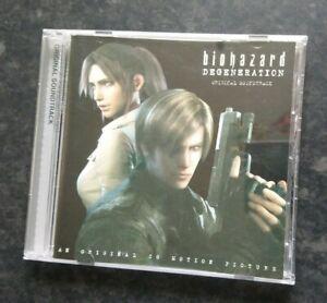 Resident Evil Biohazard Degeneration Original Soundtrack Japanese