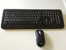 Microsoft Wireless Keyboard Mouse Combo 800 Numeric Pad