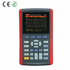 Uni T Utd1025cl Handheld Digital Oscilloscope 35 Lcd 1 Ch 25mhz Dmm 200ms K