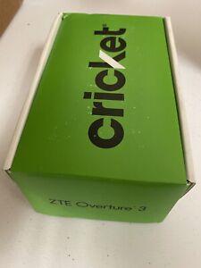 BRANDNEW CRICKET ZTE OVERTURE 3 Z851M 16GB 4G LTE SMARTPHONE - BLUE