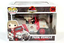 Funko POP Rides Jurassic Park Vehicle #39 Vinyl Figure Set NEW Box Defects