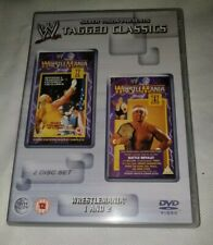 WWE Tagged Classics Wrestlemania 1 And 2 DVD Set PAL