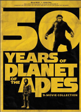 New! PLANET of the APES 9 Movie Collection Blu-ray + Digital! All 9 movies!