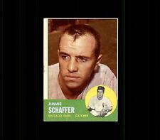 1963 Topps 81 Jim Schaffer VG-EX #D401994