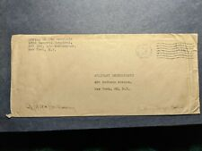 Apo 152 Sudbury, England 1945 Censored Wwii Army Cover 182nd Hospital