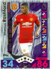 Manchester United 2016-2017 Season Soccer Trading Cards