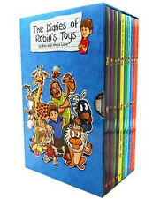 The Diaries of Robins Toys 10 Children Books Gift Box Set Collection