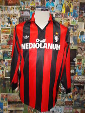 maglia calcio shirt maillot camiseta trikot MILAN TG S