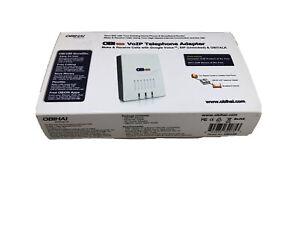 Obihai OBi100 VoIP Telephone Adapter (Google Voice, SIP, OBiTalk)  New Open Box!