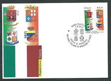 2002 ITALIA CARTOLINA POSTALE FDC MILITARI ITALIANI ANNULLO ROMA FILATELICO