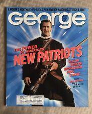 MEL GIBSON JFK JR George Magazine July 2000 NEW PATRIOTS