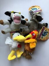 Chatterbox Dog Toy - Duck / Cockerel / Donkey / Cow
