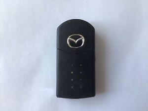 Mazda 3 Switch Blade Fob Key With Transponder - Genuine