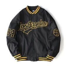 Ameri-Camden Los Angeles 'Black Mamba' Bomber/ Varsity/ Letterman Jacket