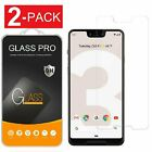 2-Pack For Google Pixel 3 / 3 XL Screen Protector Ultra Thin Tempered Glass