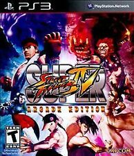 Super Street Fighter IV -- Arcade Edition (Sony PlayStation 3, 2011)M