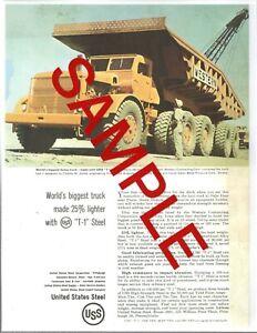 "Euclid dump truck ""world's largest"".  Photo"