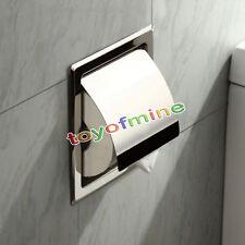 NOUVEAU acier inoxydable Porte-papier hygiénique Tissue Boîte rouler