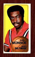 Earl Monroe Autographed 1970-71 Topps #20 Vintage Basketball Card AU