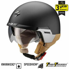 Scorpion Thermo-Resin Open Face Motorcycle Helmets
