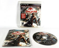 Dead Island Game Of The Year Edition (PS3, 2011) GOTY Complete TESTED