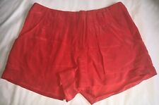 Anthropologie Broadway & Broome Silk Shorts Dressy Thin Coral Shade Sz 4