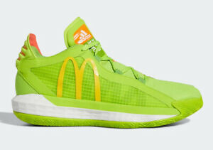 🏀 Adidas Dame 6 Dame Sauce McDonald's LIMITED EDITION Gym Shoes FX3334 Size 9