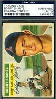 Bobby Shantz 1956 Topps Psa Dna Coa Autograph Authentic Hand Signed