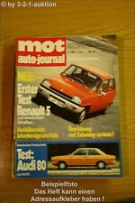 MOT 18/72 R 5 Simca 1000 Rallye 2 Fiat 500 Ford Capri
