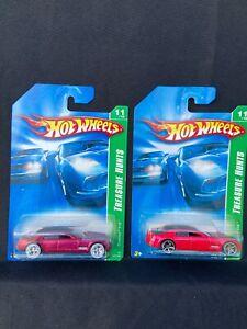 Hot Wheels Lot of 2 Cadillac V16 2007 Super Treasure Hunt & Treasure Hunt
