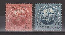 NVPH Netherlands Nederland 542 - 543 used gest 1949 75 jaar Wereldpostvereniging