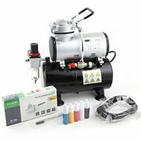 Airbrush Set FD-186K with Compressor FD-186, Airbrush BD-130, Beginners