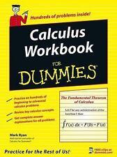 Calculus Workbook for Dummies by Mark Ryan (2005, Paperback)