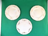 Alfred Meakin Gold Swags Green Band Side Plates x 3