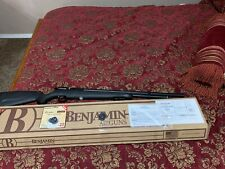 Barely Used - Benjamin Fortitude Gen1 PCP Air Rifle, Regulated .22 Caliber Black