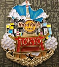 Hard Rock Cafe Pin Tokyo Roppongi store Limited Core City Icon Japan