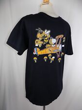 Georgia Tech Yellow Jackets Peanuts Snoopy Red Baron S/S Black Shirt Women M
