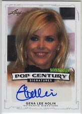 "2014 LEAF POP CENTURY AUTO: GENA LEE NOLIN - AUTOGRAPH ""BAYWATCH/PLAYBOY/MAXIM"""