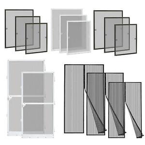 Fliegengitter Insektenschutz Fenster mit Alu Rahmen Mückenschutz Tür Fliegennetz
