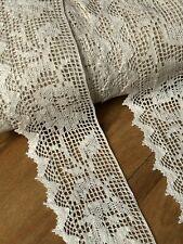 """laverslace White Shabby Chic Cotton Cluny Crochet Lace Trim 2.5/""""//6cm"""