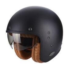 Scorpion Belfast Luxe Open Face Motorcycle Helmet - Matt Black