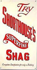 """ Shorthouse's Superfein Shag Emailliert Stahl Wandschild 260mm x 140mm ( Dp )"